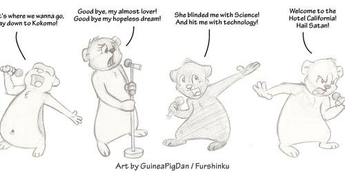 Guinea Pig Karaoke Night!