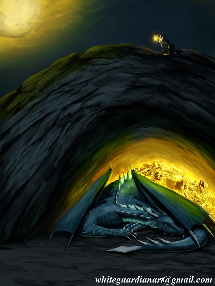 Hunting Treasure in Dragon's Lair