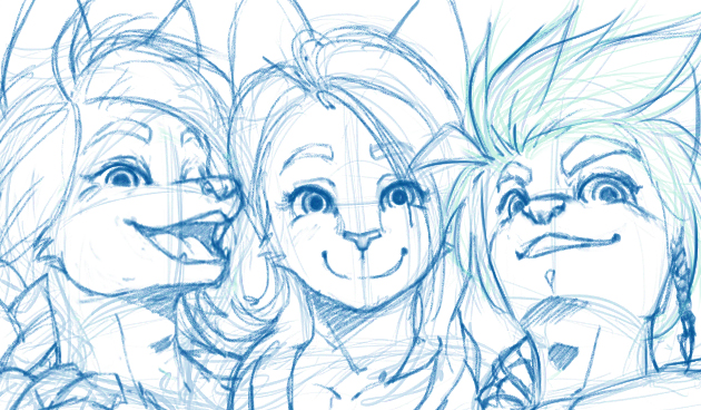 Avatar Sketch!