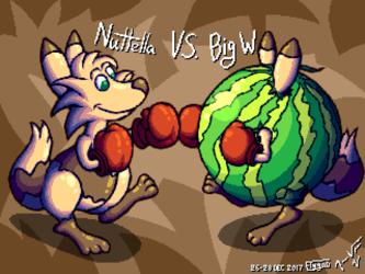 Nuttella vs. Big W