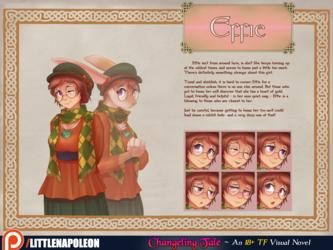 Changeling Tale - Effie Character Sheet
