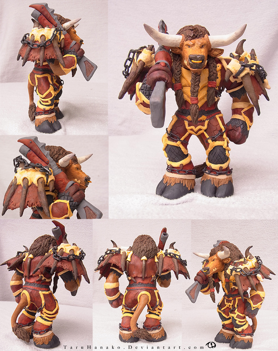 Tauren sculpture 2