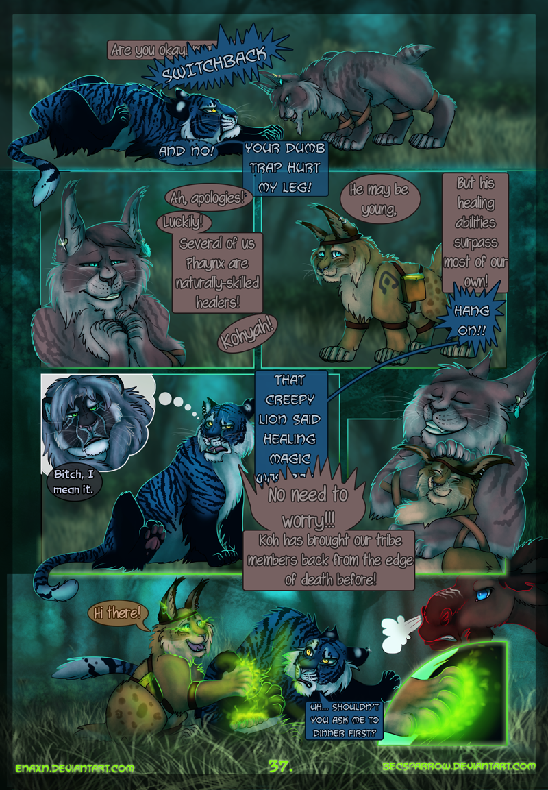 The Last Aysse: Page 37