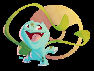 Favorite Grass Pokemon: Bulbasaur