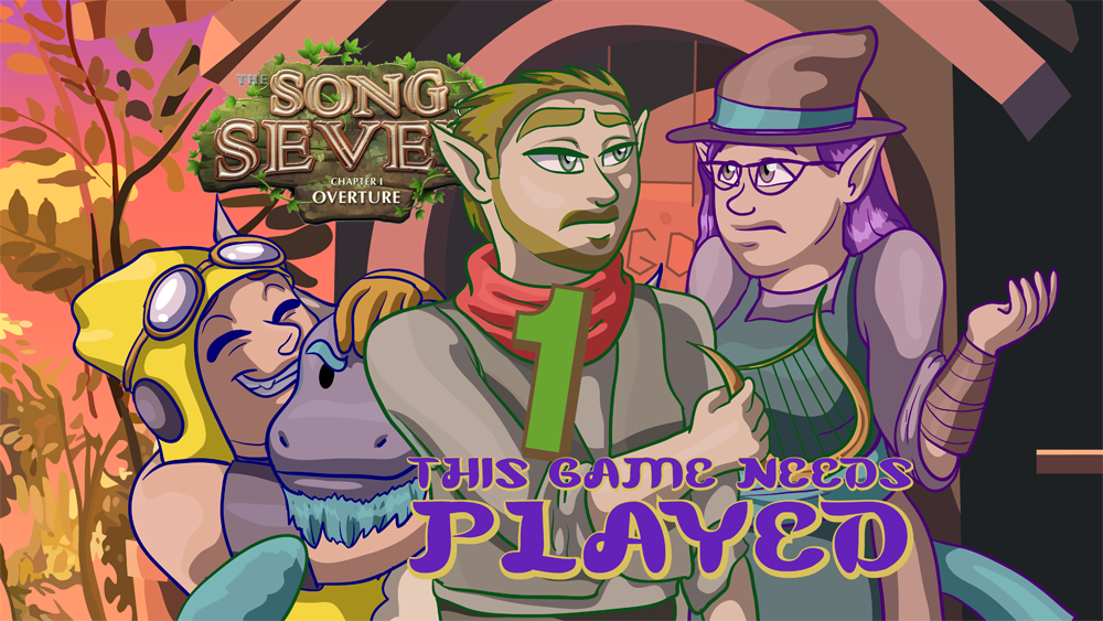 Song of Seven Title Card Art