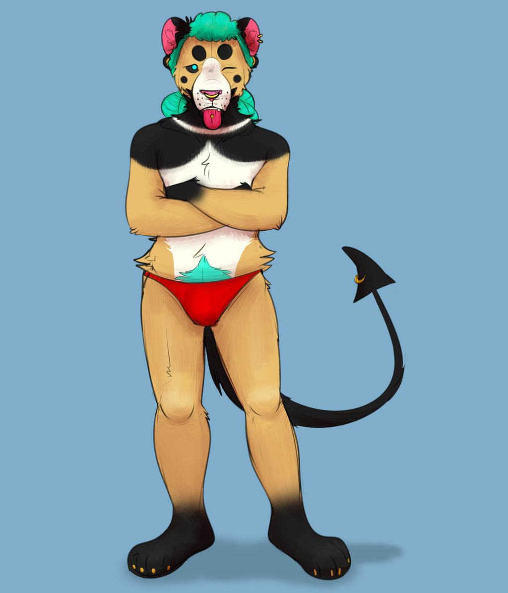 Most recent image: BUFF LION MAN