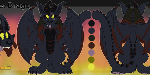 Drago the Cagon Reference Sheet