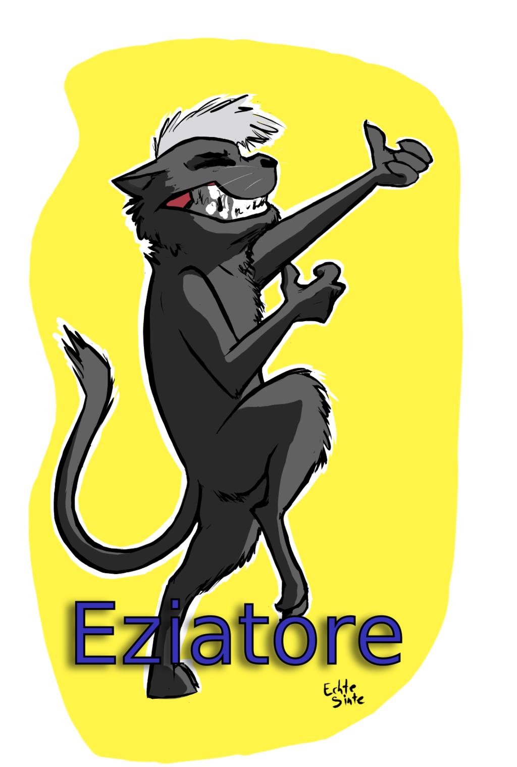 Eziatore Badge