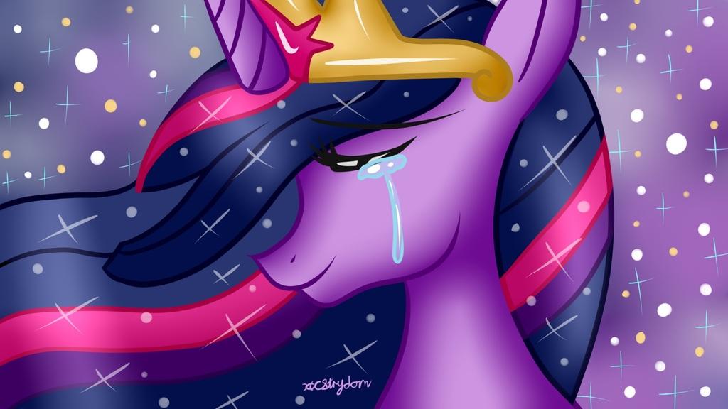Speedpaint - MLP Princess Twilight Sparkle [Goodbye MLP G4]