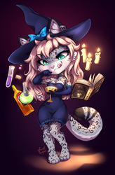 Witch's cocktail