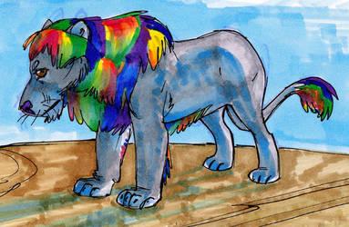rainbow lion [feb '14]
