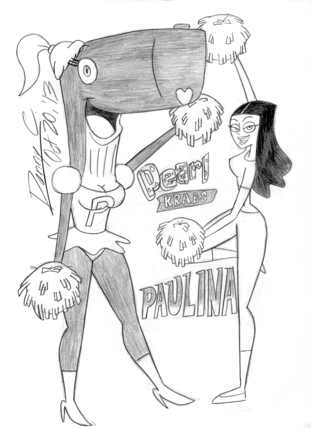 MISS NICKELODEON Round 1-12: Pearl vs. Paulina