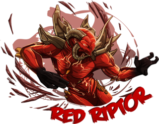 Glacius Community Art Drive: Red Riptor