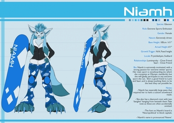 Reference Sheet - Niamh