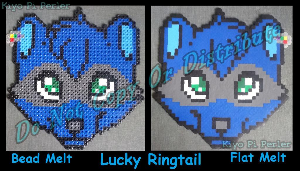 Lucky Ringtail Badge (Original Pattern - Grab Bag Winner!)