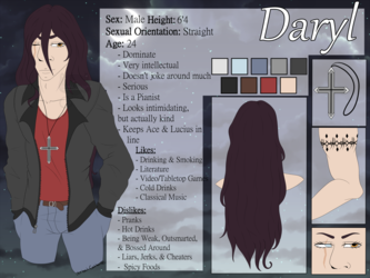 Daryl Reference Sheet