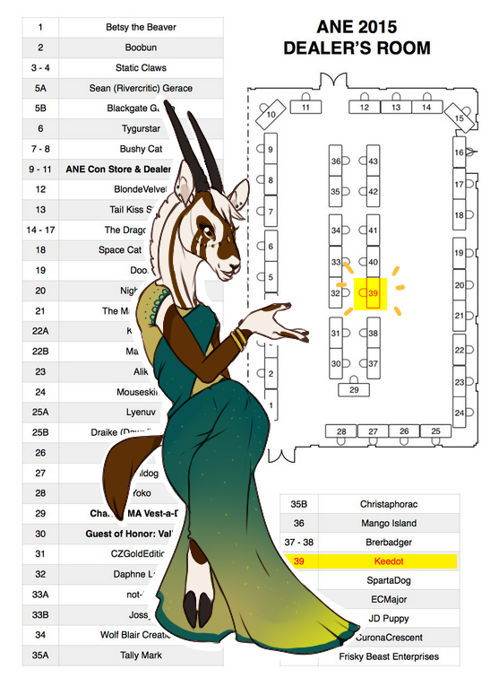 Find Kee at Anthro New England's Den~! (#39)