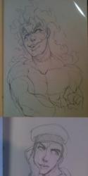 Jojo sketches