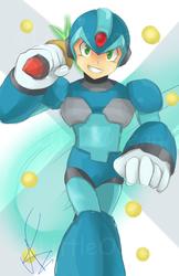 Mega Man Day 2018 -X Doodle-