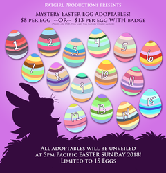 SALE Mystery Easter Egg Adoptables