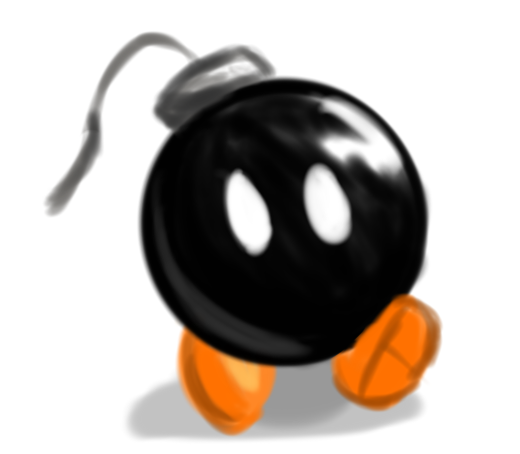 Digital Painting: Bob-omb