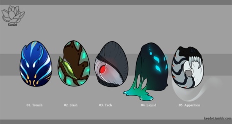 Egg Adoptables - Closed, all gone! (Batch III)