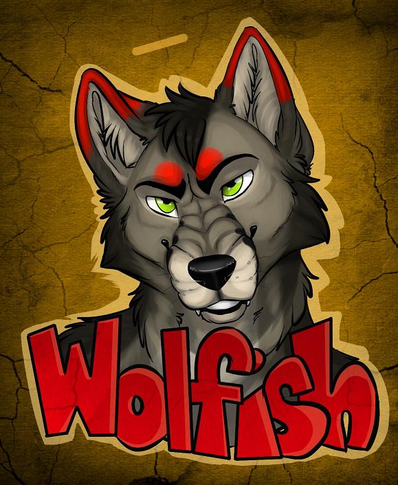 Wolfish Badge