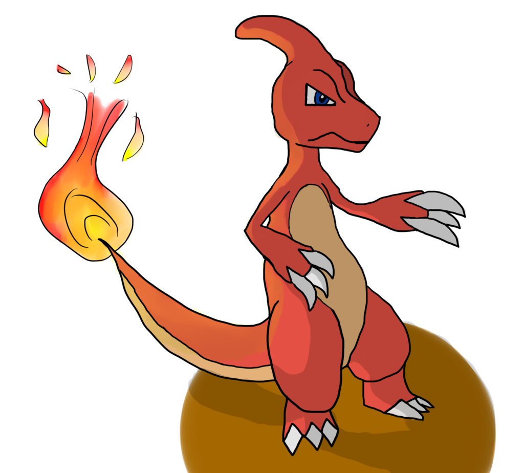 Most recent image: Charmeleon with shading!
