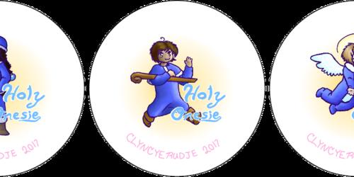 Holy onesie