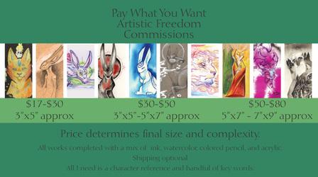 Artistic Freedom Commissions