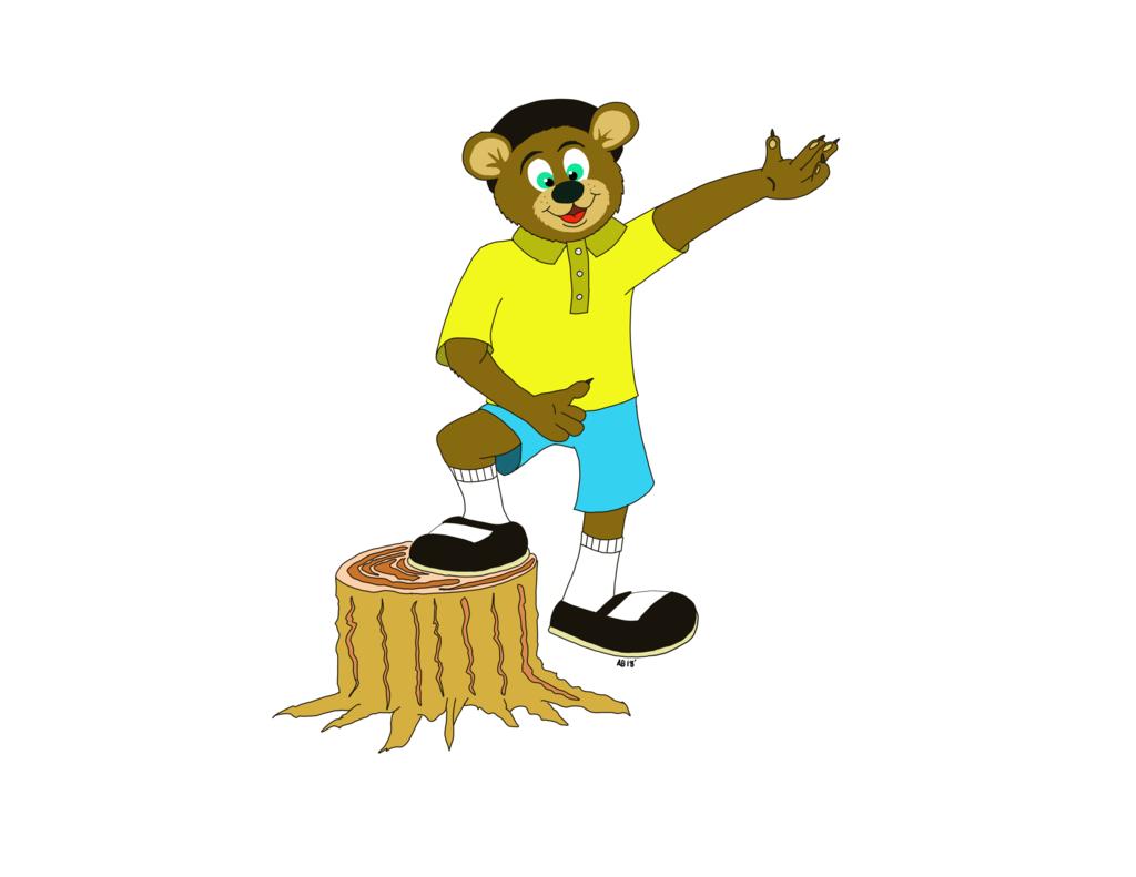 Al Bear 2018 version no background