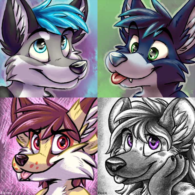 [C]Icons, some of them are commissions, some are not