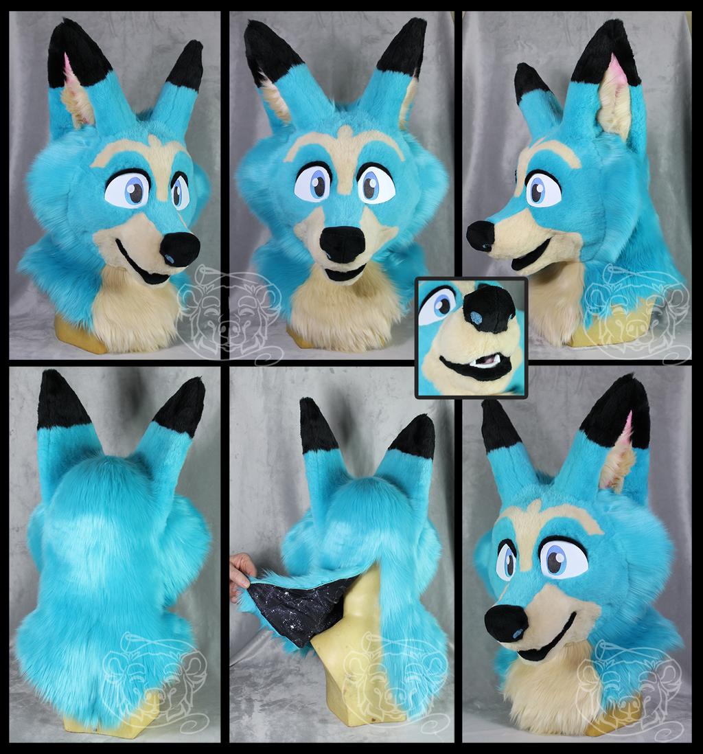 Zeo Fox Fursuit