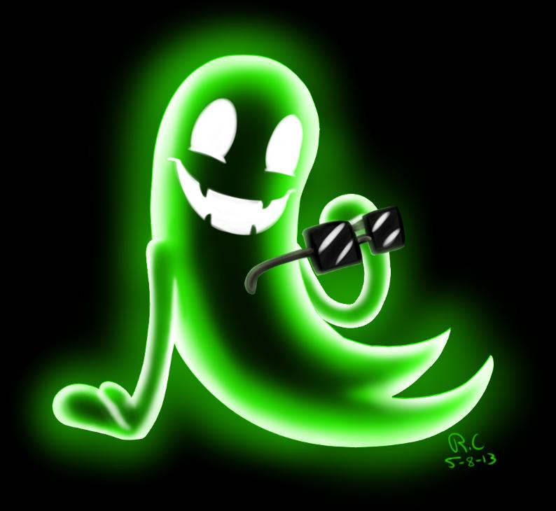 Greenie Ghost Weasyl