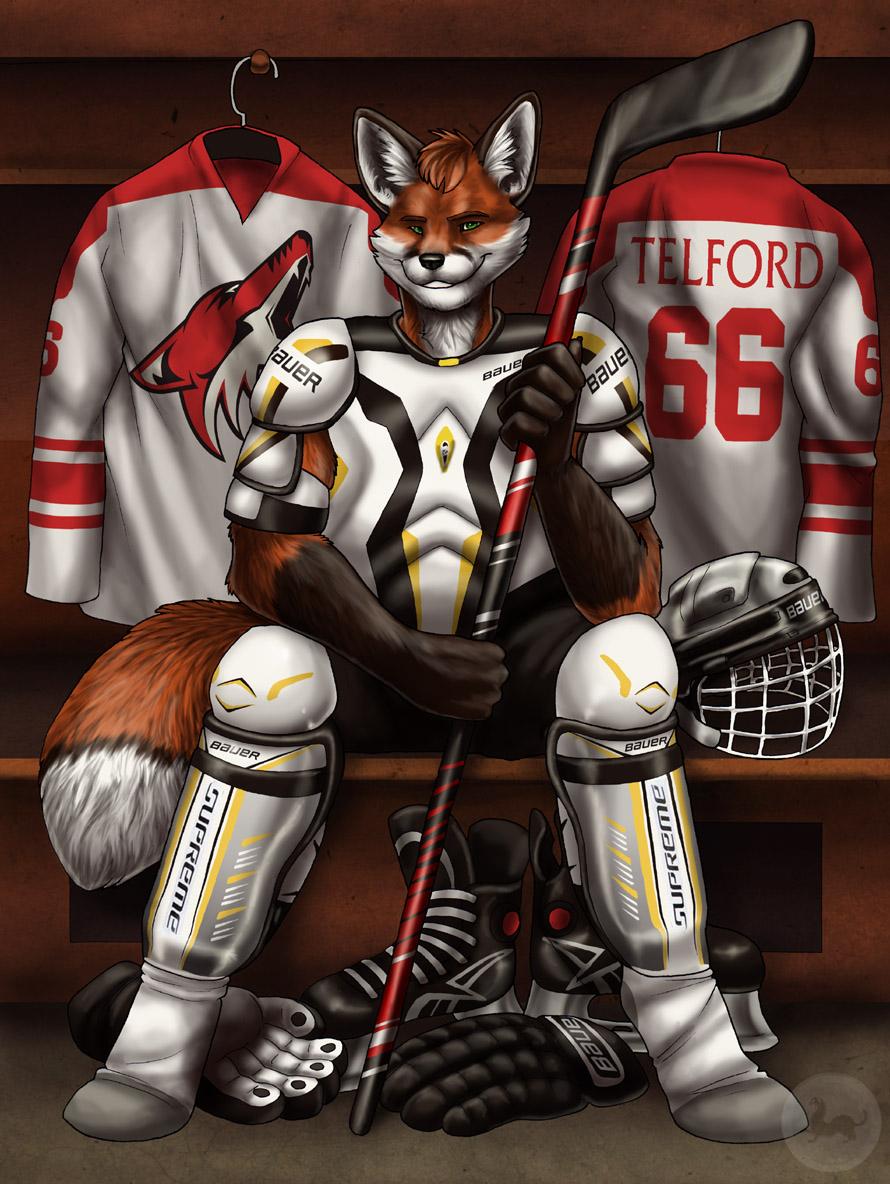 Hockey Fox