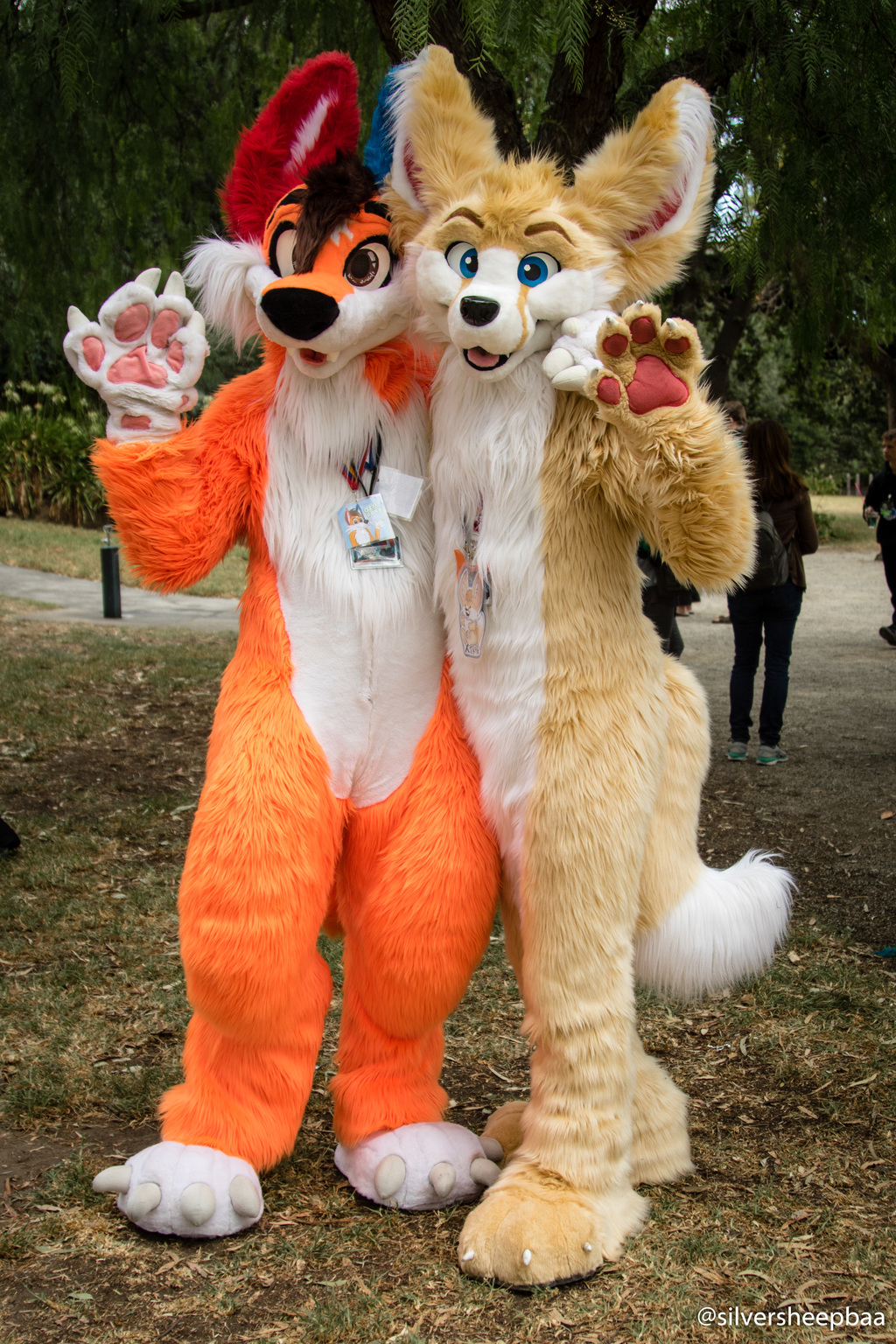 ConFurgence 2018: Ozzi Foxy and X'Trap