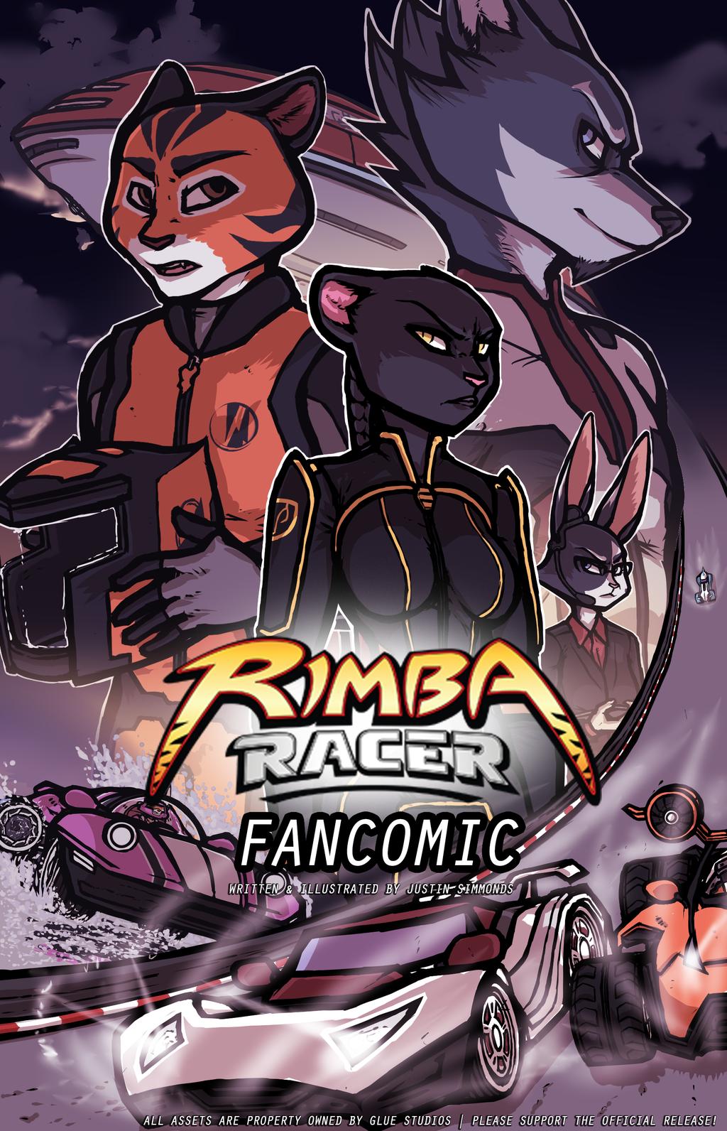 Rimba Racer Fancomic Cover