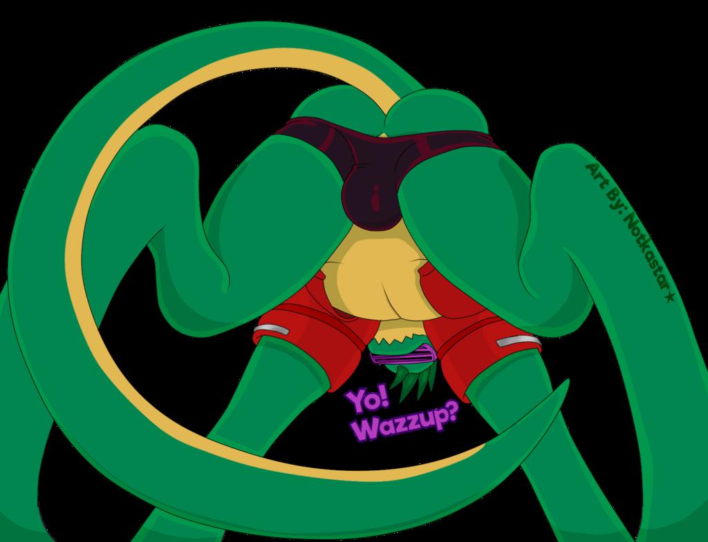 Zackasaurus From Below
