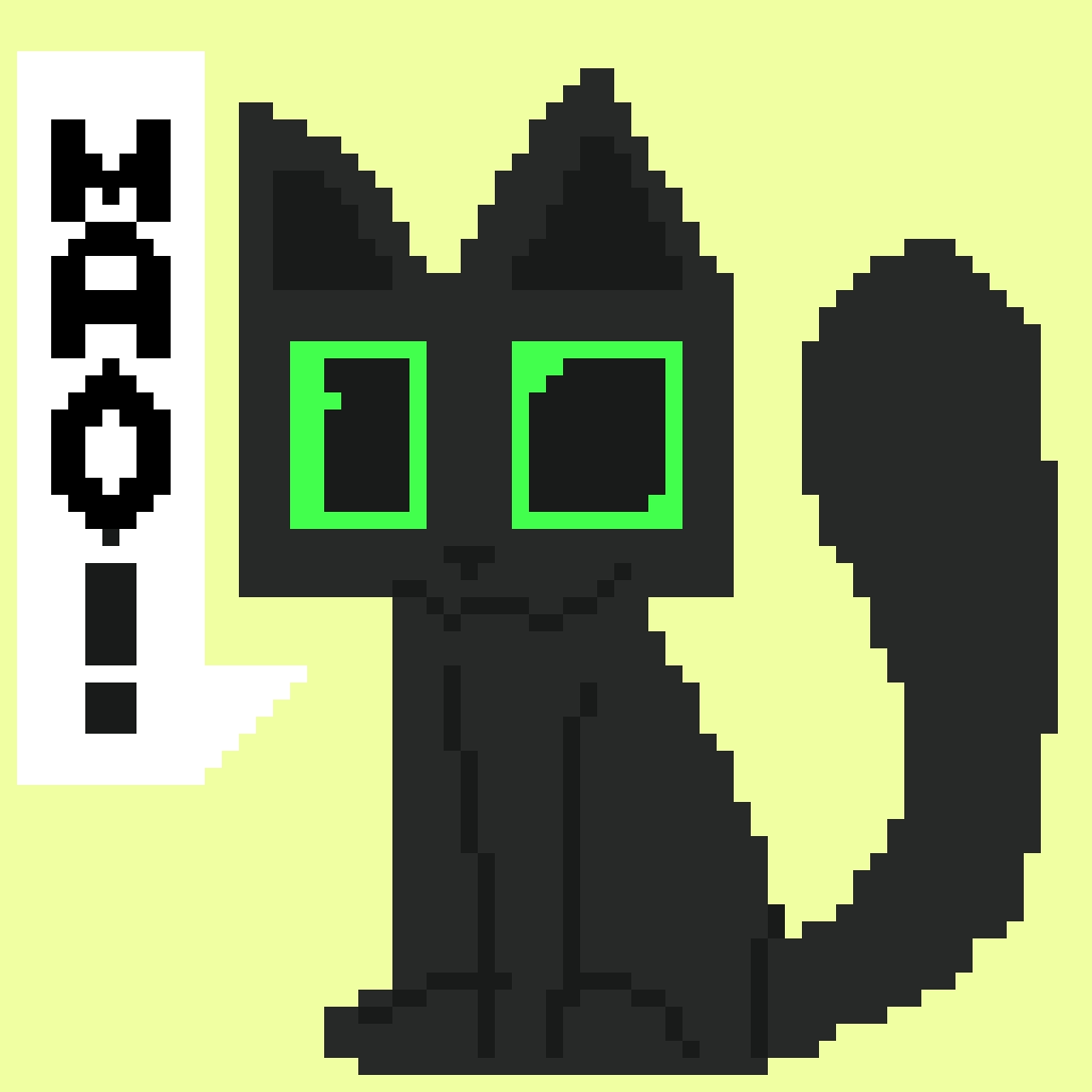 Pixel Art : Cat