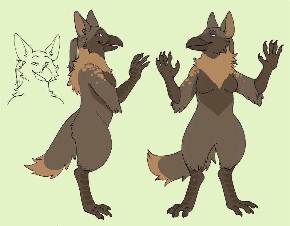 Shoujax character design