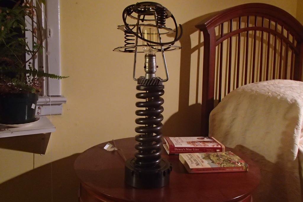 coil spring lamp