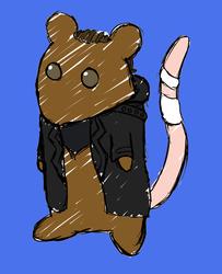 Smol Cinnamon Rat
