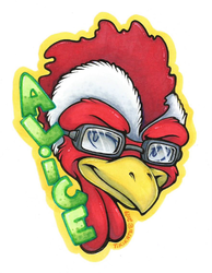 Alice Badge (Commission)