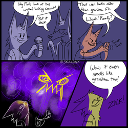 Ghost Hunting Comic - Urn