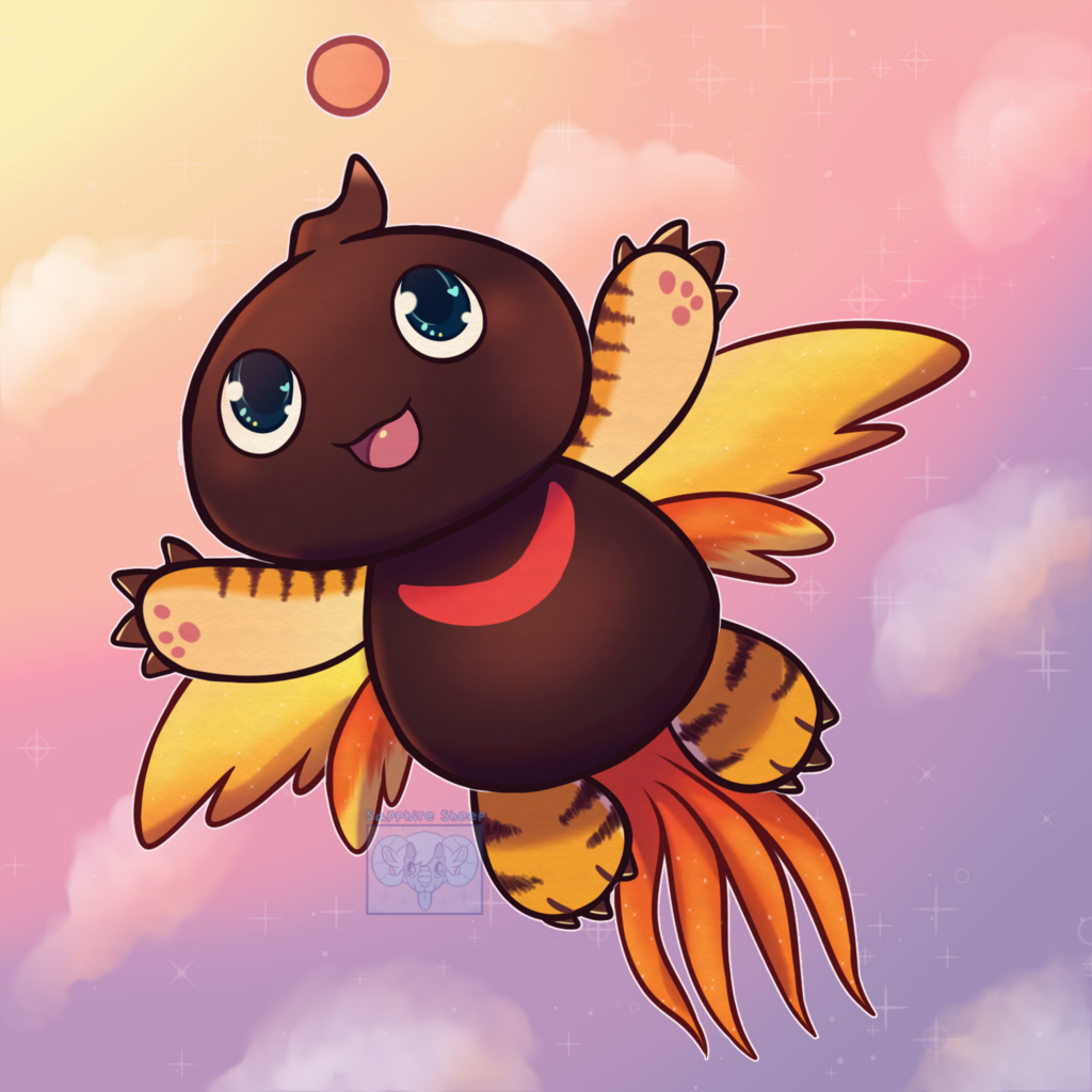 He fly
