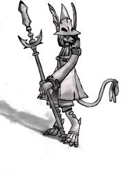 [Fanart] Freya Basic Pose Sketch