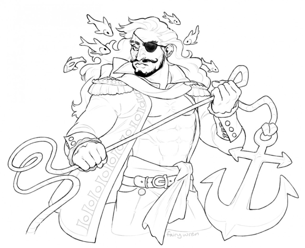 Most recent image: pirate guy