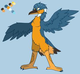 New Kingfisher Character! - Halcyon