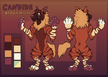 Candide reference sheet
