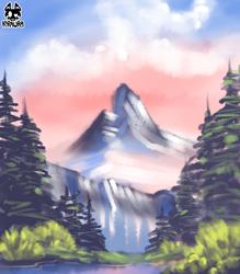 Happy Little Mountain